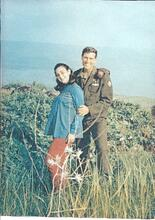 Marvin & Debbie in the Golan Heights in 1973