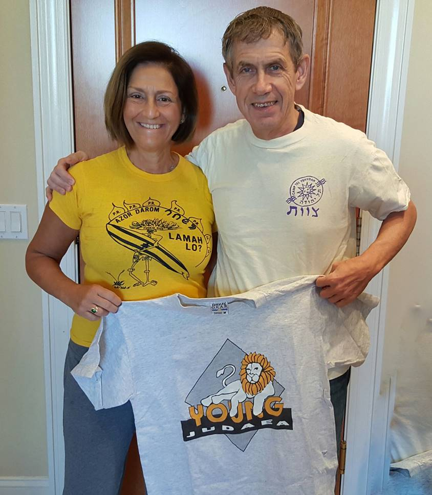 Roger & Fanny in shirts